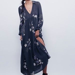 FREE PEOPLE ROSEMARY MAXI DRESS